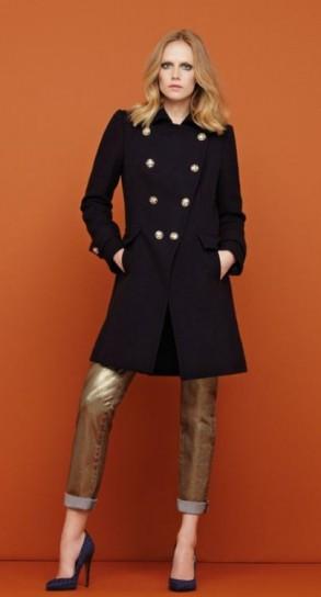 Pinko cappotto nero collezione a i 2012 2013 | Smodatamente