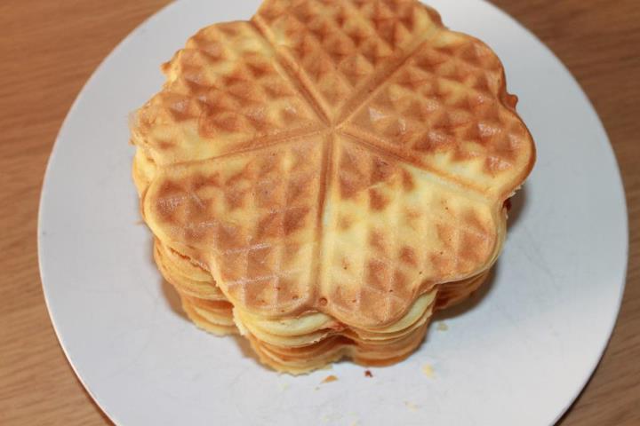 Ricetta waffle gaufre cialde facile golosamente for Decorazione waffel