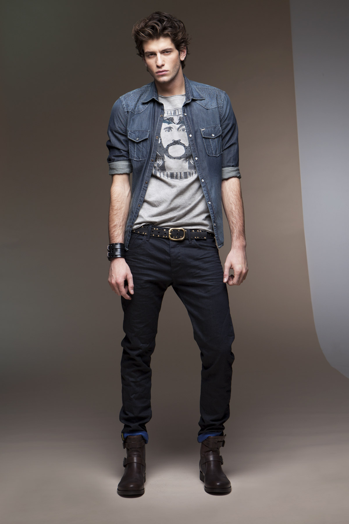 Matrimonio In Jeans Uomo : Uomo jeans gaudi autunno inverno