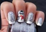 tutorial nail art unghie natale 2013