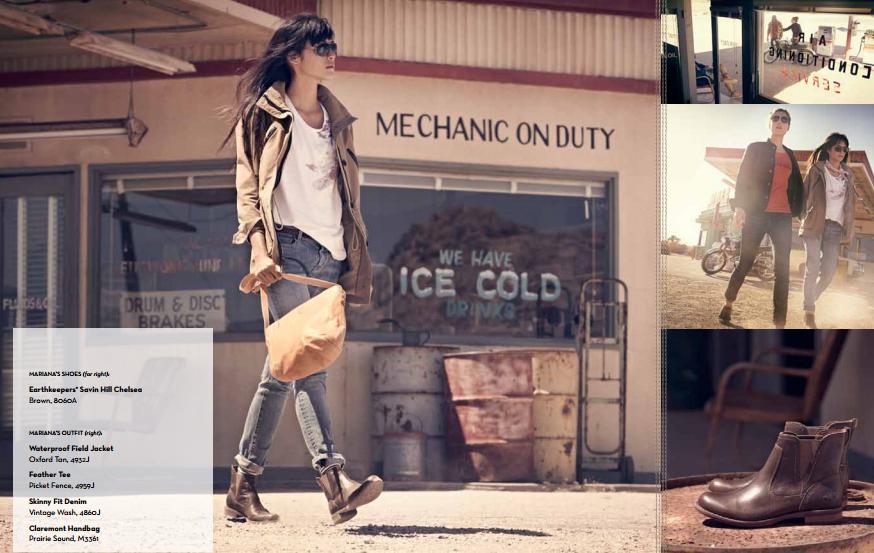 Catalogo Timberland 2014, i modelli da donna per la stagione