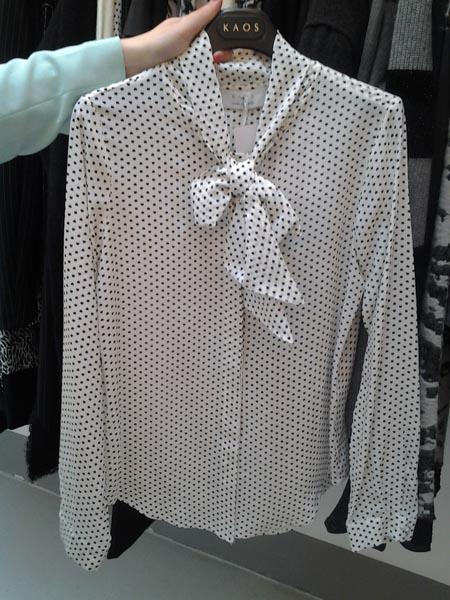 ebb72af37a12 ... abbigliamento 2014 2015 autunno inverno qui! Tante le tendenze  sfoggiate nella nuova collezione Kaos  dalla camicia al pantalone fino al  blazer ...