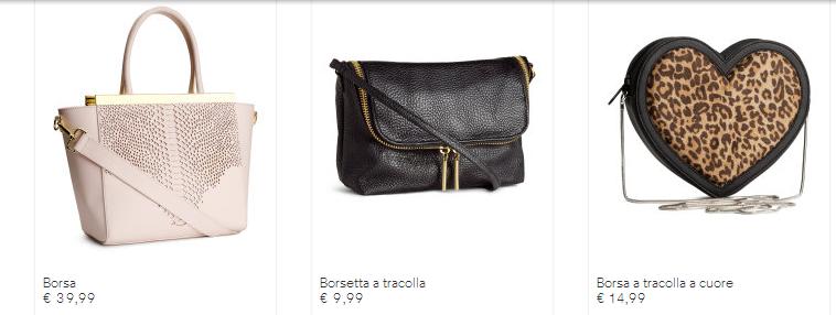molto carino b3b22 717fc Borse H&M catalogo autunno inverno 2014 2015 | Smodatamente