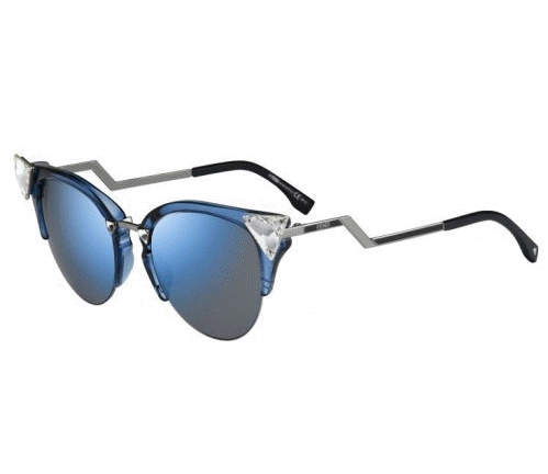 Fendi occhiali da sole a specchio smodatamente - Occhiali da sole a specchio ...