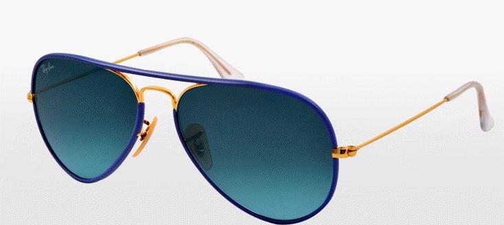 Occhiali da sole a specchio estate 2014 smodatamente - Occhiali ray ban aviator specchio ...