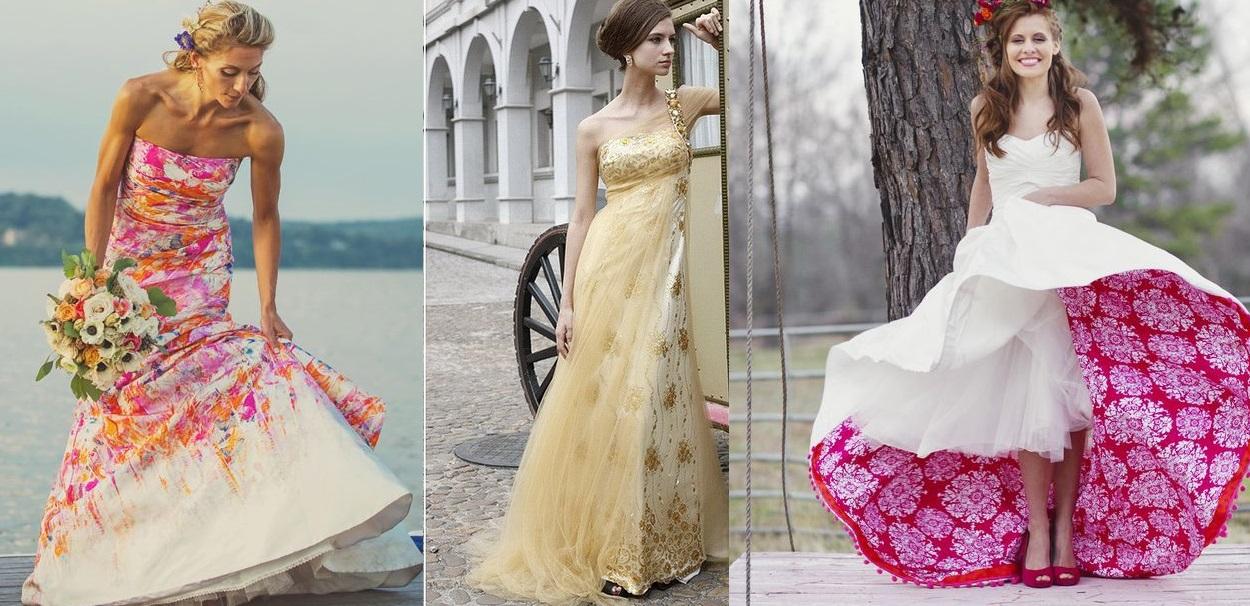 Abiti da sposa colorati lombardia