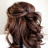 Semiraccolto capelli lunghi tutorial