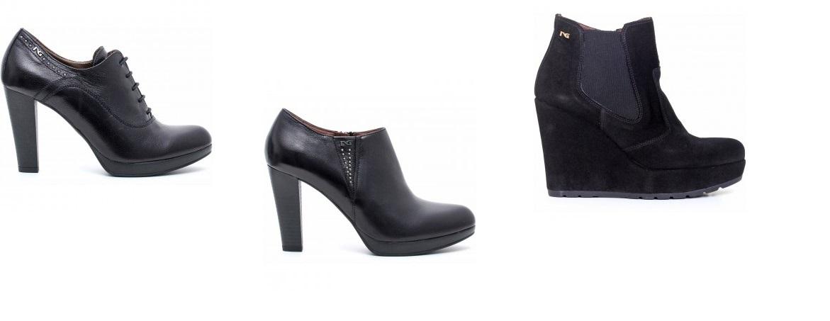 scarpe nero giardini 2015 catalogo tronchetti  e03a7df4e5a