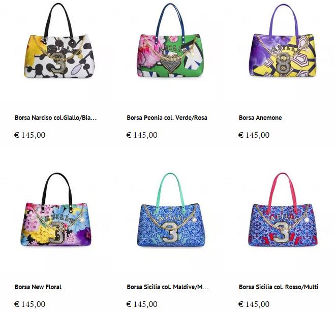 Borse la fille des fleurs 2015 catalogo primavera estate for Fleurs online