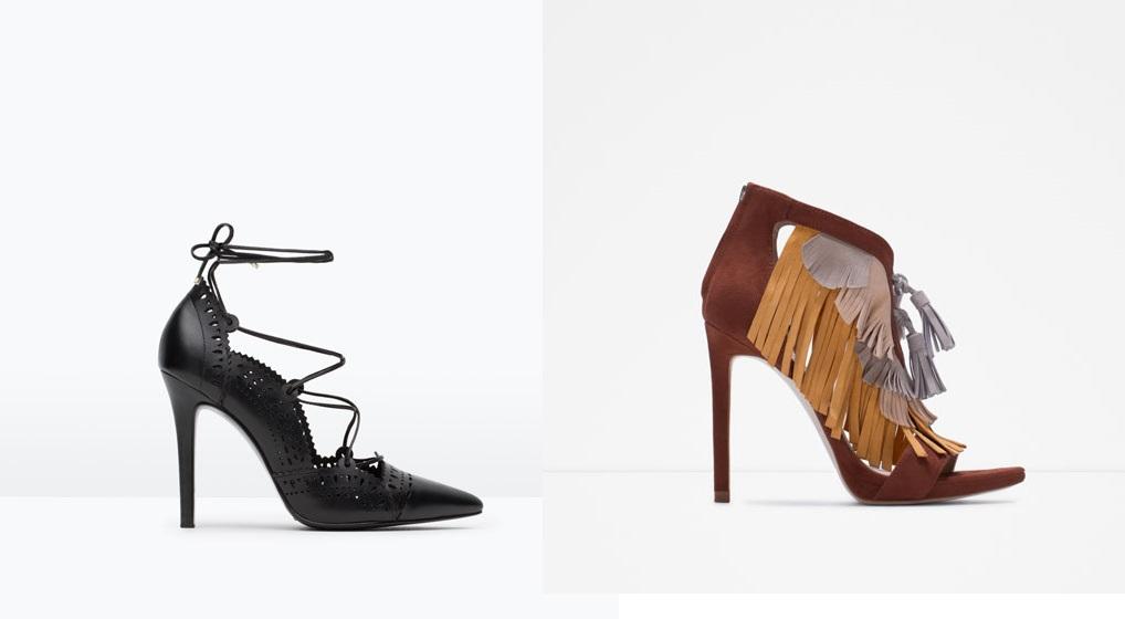 Zara scarpe 2016 catalogo stivali zara  08529cb646a
