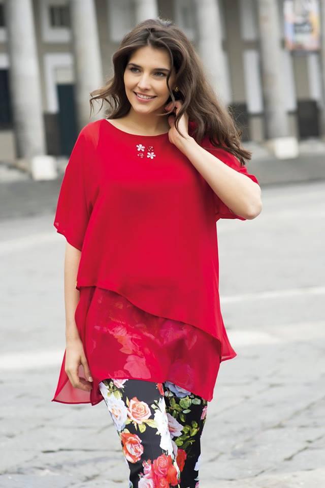 Cannella 2016 collezione abbigliamento primavera estate for Moda taglie forti