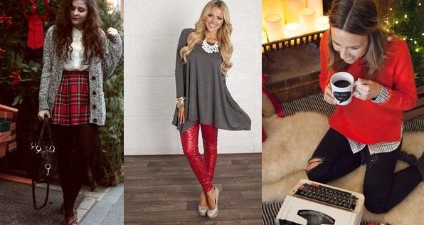 Outfit Natale 2015 idee abbigliamento foto  Smodatamente.it