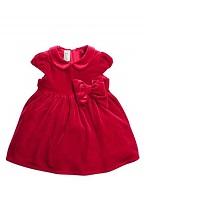 low priced 92b93 18252 Vestito velluto rosso bambina – Abiti in pizzo