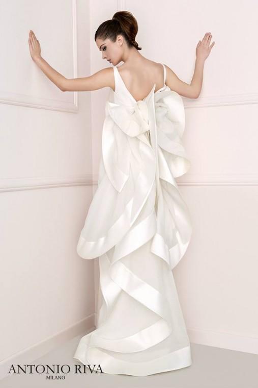 Favoloso Cool italia dress: Lorenzo riva abiti da sposa corti TZ09