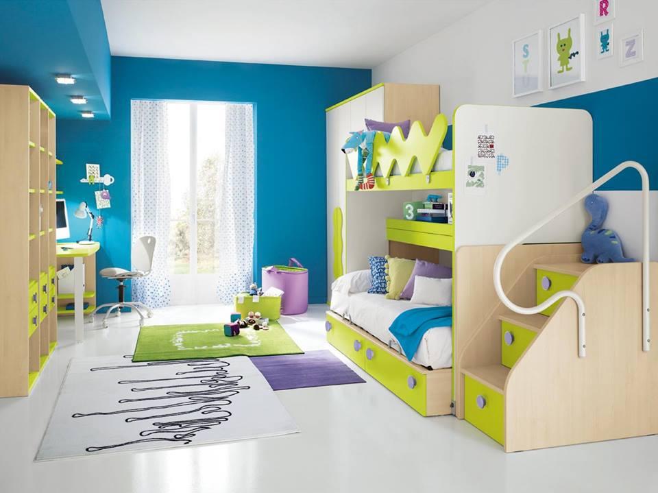 Camerette bambini piccoli spazi camerette per bambini for Camerette per bambini piccoli spazi