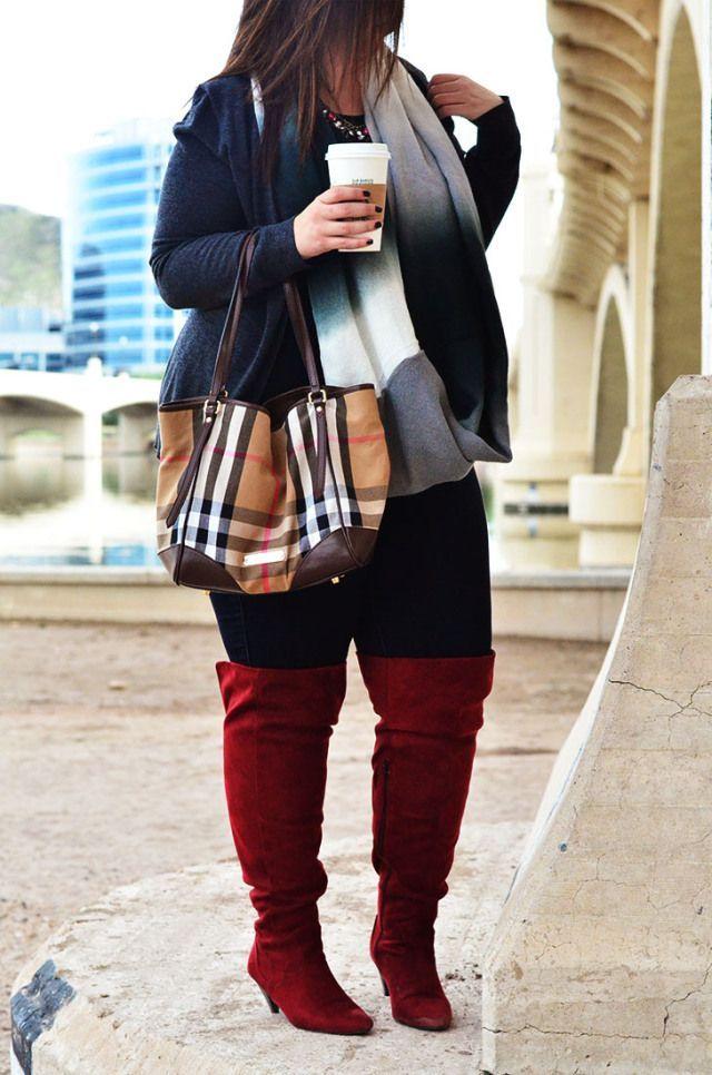Stivali polpacci grossi su misura