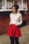 outfit san valentino 2016 minigonna