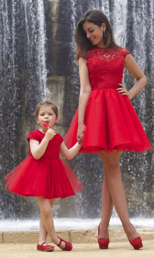 outfit san valentino 2016 mamma e bimba