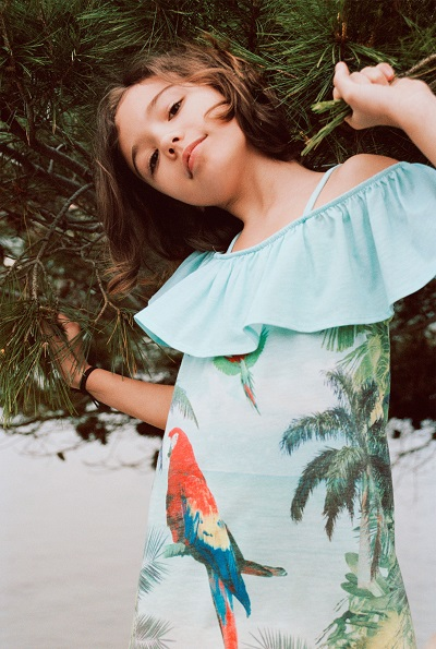 zara kids catalogo estate abbigliamento