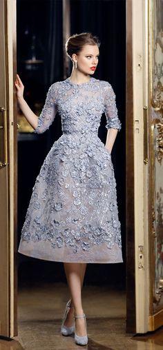 abiti da sposa 2017 colorati azzurro