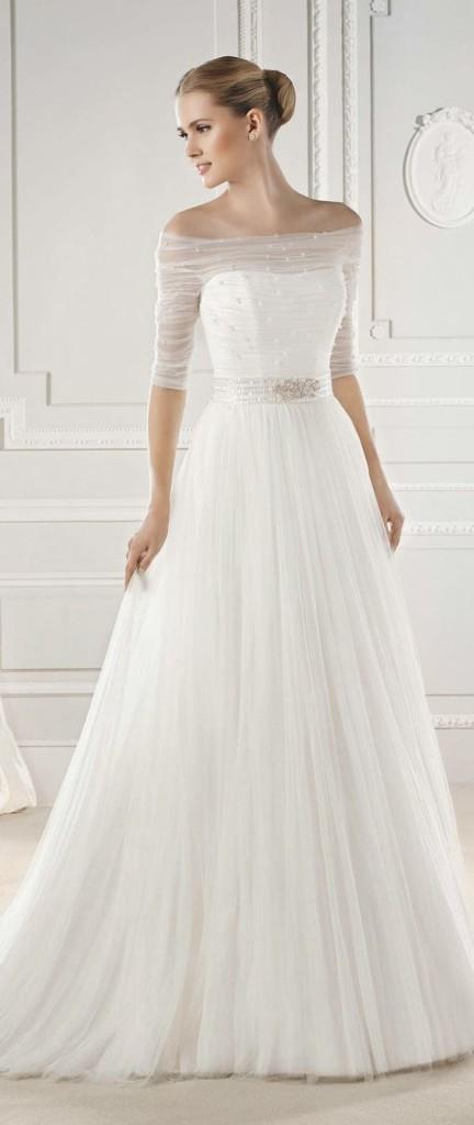 abiti da sposa 2017 con maniche