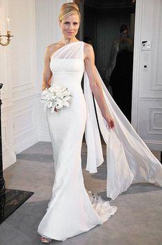 abito da sposa 2017 monospalla