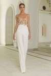 abiti da sposa 2017 pantaloni tuta