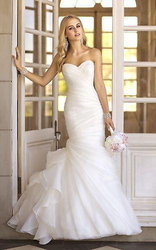 abiti da sposa 2017 sirena foto