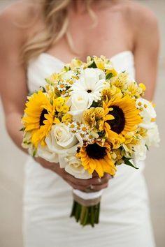 bouquet sposa girasoli estate
