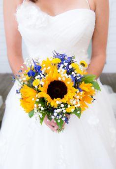 bouquet sposa girasoli idee