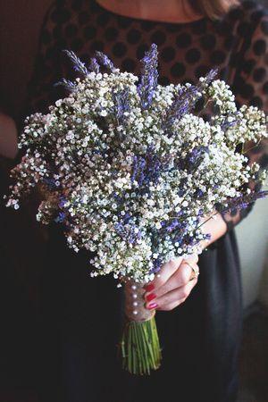 bouquet sposa lavanda foto