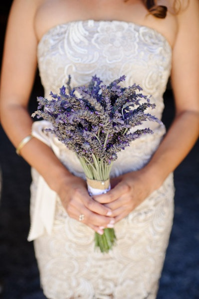 bouquet sposa lavanda shabby chic
