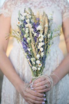 bouquet sposa lavanda spighe