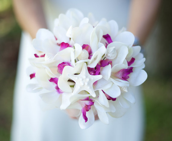bouquet orchidee mare