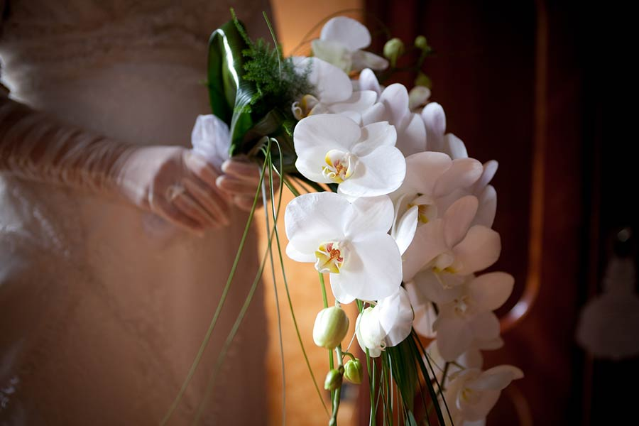 bouquet orchidee verticale