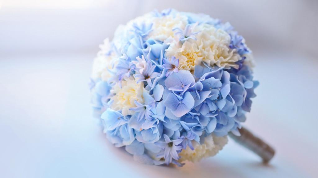 bouquet sposa ortensie foto