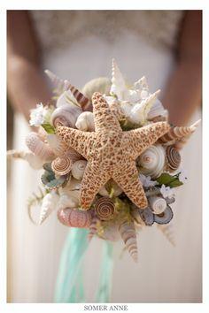 bouquet sposa tema mare