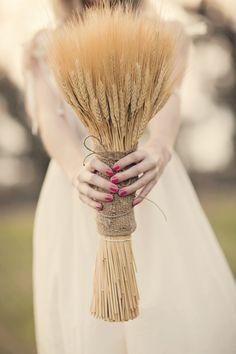 bouquet sposa spighe