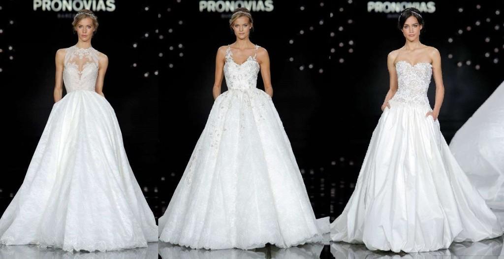 abiti da sposa pronovias 2017 principessa