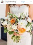 bouquet sposa 2018 country