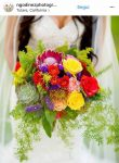bouquet sposa 2018 colorati