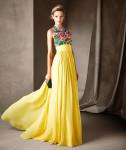 pronovias 2017 catalogo abito giallo