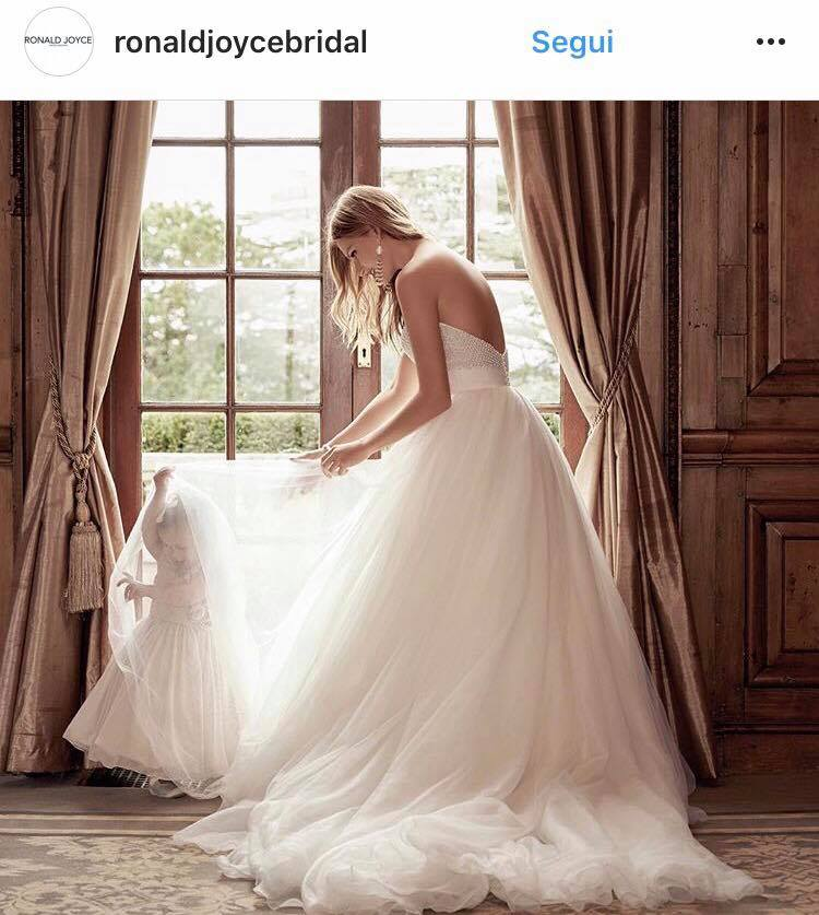 vestiti sposa 2018 princess