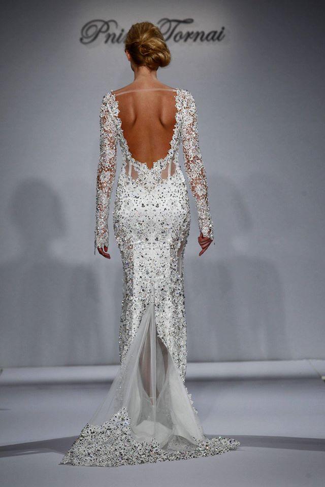 vestiti sposa 2018 maniche lunghe