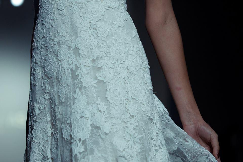 vestiti sposa 2018 dettagli