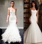 vestiti sposa 2018 sirena