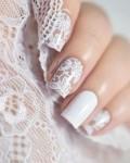 Manicure sposa 2017 nail art pizzo