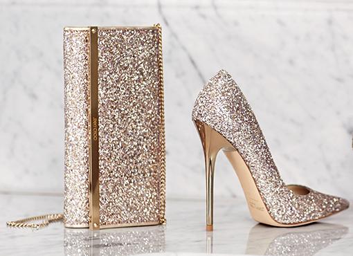 scarpe sposa Jimmy Choo 2017 cenerentola