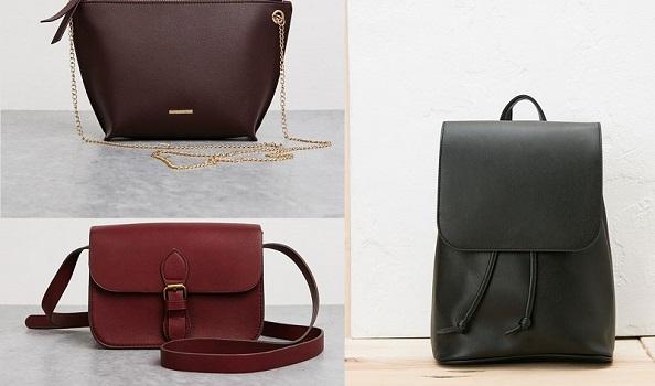 Bershka 2017 collezione borse prezzi