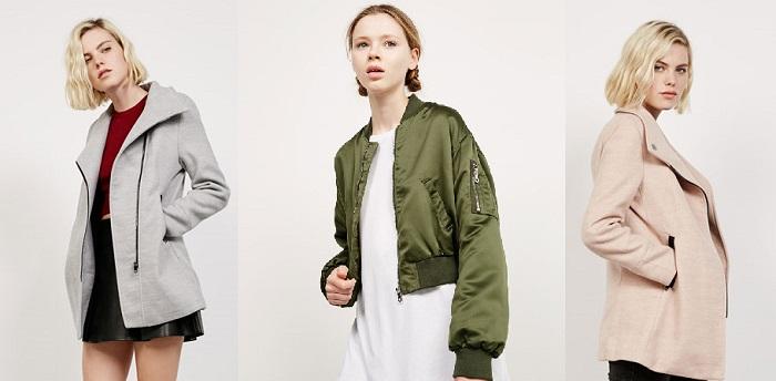 Bershka 2017 collezione giacche